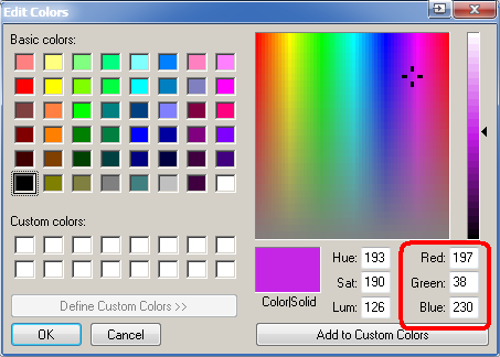 ЛАБОРАТОРНАЯ №1 — работа с графикой и цветом Colors