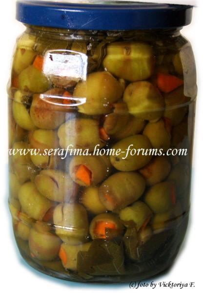 Зеленые оливки-2 (фаршированные) E05317277652