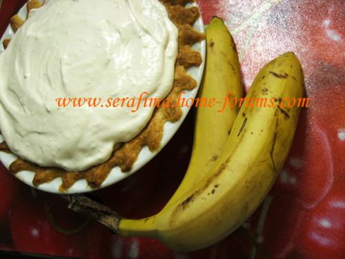 Американский карамельно-банановый пай. Caramel Banana Pie E2398ff0068d