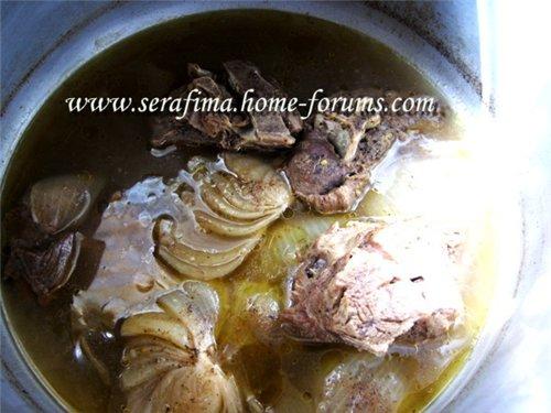 Мансеф - традиционный иорданский рис с бараниной и кефирной шорбой. Араб.кухня C63f5819d657