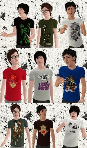 Повседневная одежда (свитера, футболки, рубашки) - Страница 2 41ada0703862