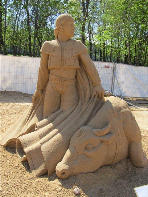"""Международный фестиваль песчаной скульптуры «Знаменитые фонтаны мира"""" 46e65ee3fa33"""