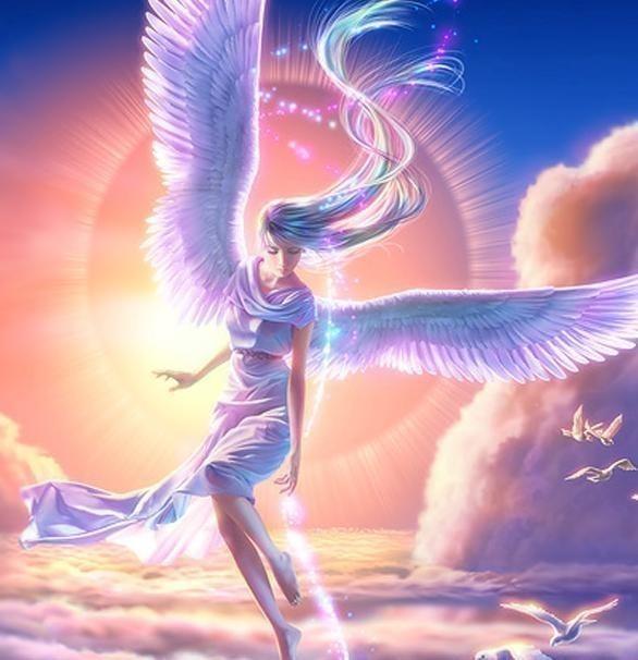 Арты на тему : Ангелы Db12e5b9f970