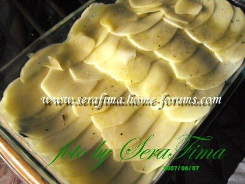 Картофельная запеканка с грибами и сливками B51e3c900b88