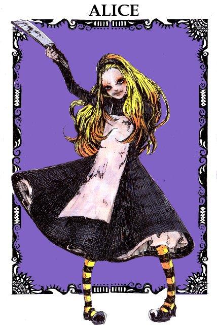 Арты на тему: 'Alice in Wonderland' 4e1f5a4225af