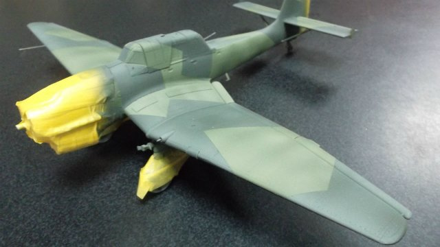 Ju-87 B-2 «Stuka», 1/48, (Tamiya 37008). 478f2dd4ced8