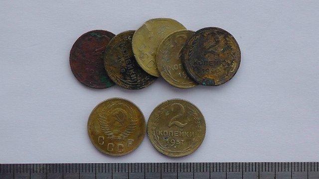 Экспонаты денежных единиц музея Большеорловской ООШ 2c20efccfa2c