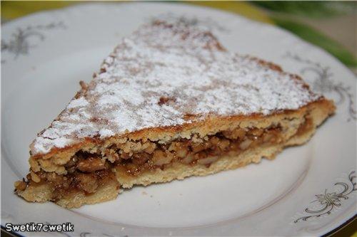 Энгадинский ореховый торт 673af7733979