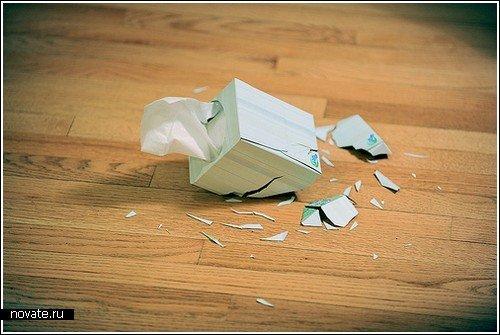 Серия снимков «разбитых вдребезги» вещей F92dd9106182