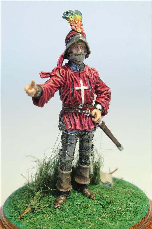 Офицер швейцарской пехоты, 1450-85 гг. 4e1bdf2ac49a
