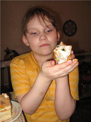 Торт на белом шоколаде 322f537b1748