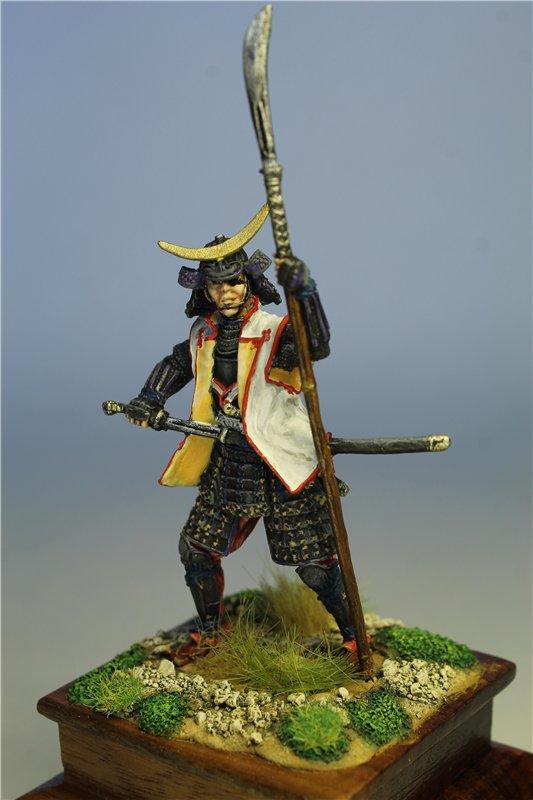 Самурай Датэ Масамунэ живший в 1566 – 1636 годах, 54мм. 9dfd5727530f