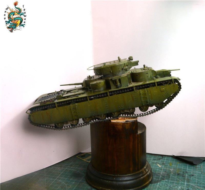Soviet T-35 Heavy Tank Hobby/Boss 1/35 8469fb83f197