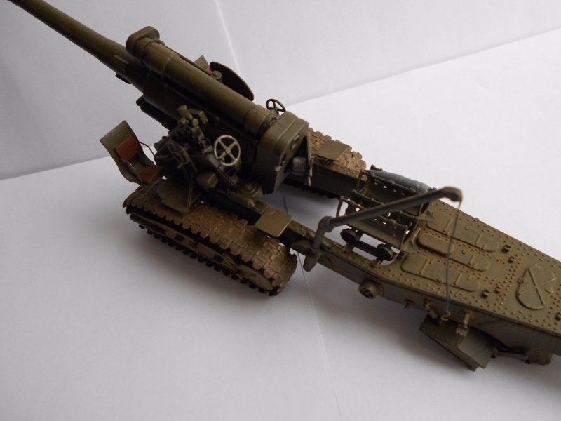 Советская 203-мм гаубица Б-4 1/35 (Alan №3522) - Страница 2 93002d9027f4