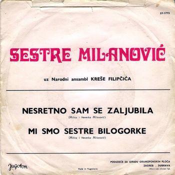 Sestre Milanovic (Milica i Nevenka) - Diskografija/Kolekcija 27147210_zadnja