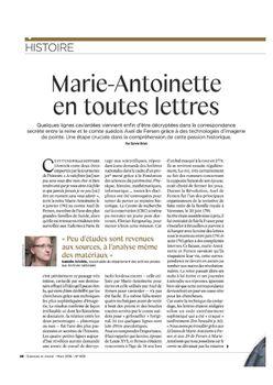 La correspondance de Marie-Antoinette et Fersen : lettres, lettres chiffrées et mots raturés - Page 25 25566913_Sciences_et_Avenir_N829_46