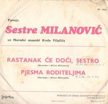 Sestre Milanovic (Milica i Nevenka) - Diskografija/Kolekcija 27147202_zadnja