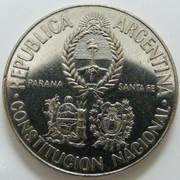 5 Pesos. Argentina. 1994 ARG_5_Pesos_Constituci_n_anv