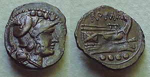 Denominación de monedas en la antigua Roma: La República. 0_0triens_repu