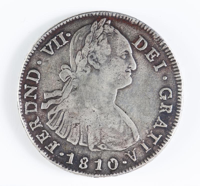 8 Reales 1810. Fernando VII. Popayán. Reproducción. QF_5027_QUINTAS
