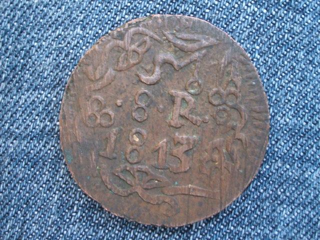 """8 Reales """"Morelos"""". Mexico. 1813 009"""