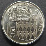 1 Franc. Mónaco. 1982. París MON_1_Franco_rev