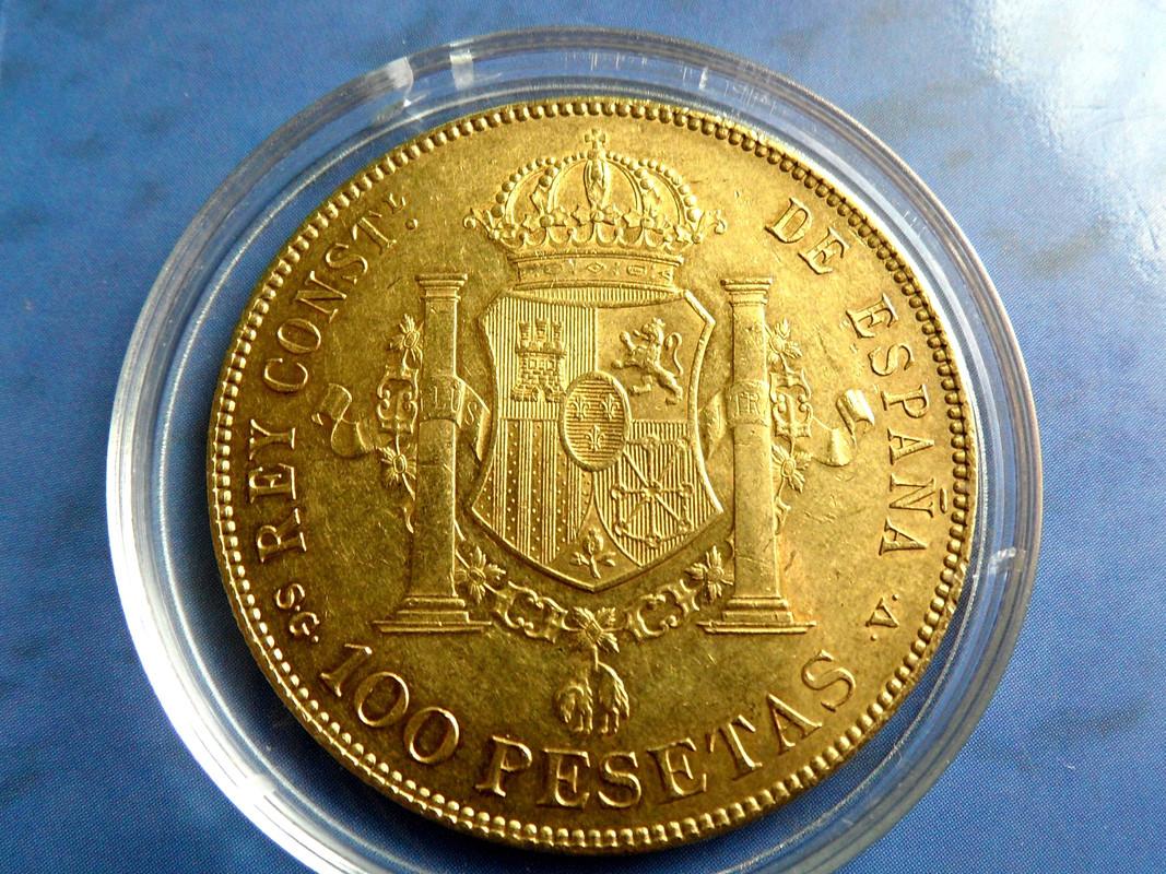 100 Pesetas 1897 (18-97). SGV. Alfonso XIII. 003