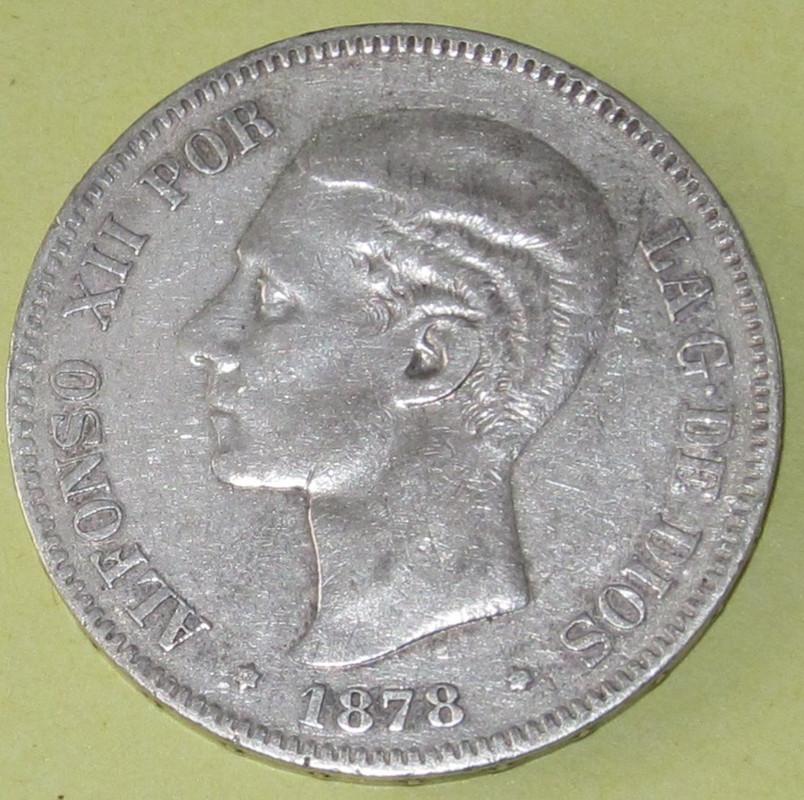 Duros de Plata de Alfonso XII 1878_EMM