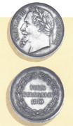 Post II: Medalla Satírica Napoleón III. Fin del II Imperio Francés. Sedán 1870. Sti2