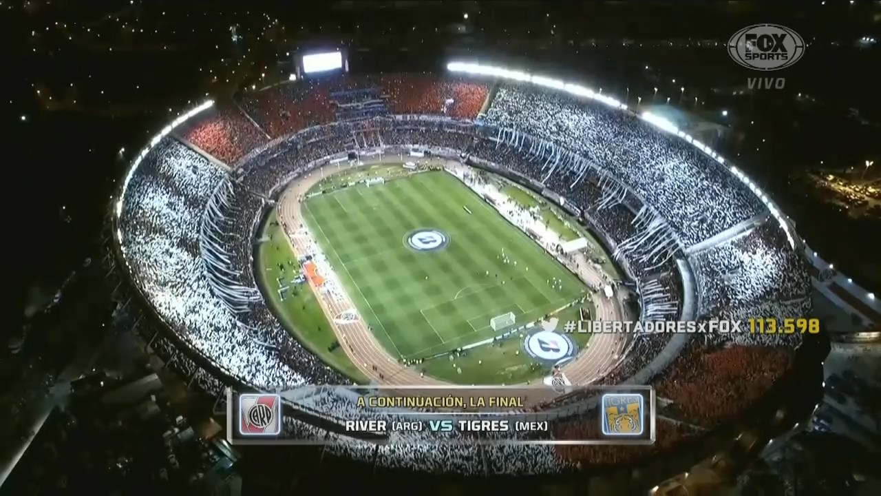 Copa Libertadores 2015 - Final - Vuelta - River Plate Vs. Tigres UANL (720p) (Español Latino) Image