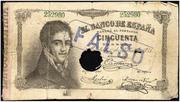 Billetes Falsos de Época 2_50_Pesetas_1874_Anv._2