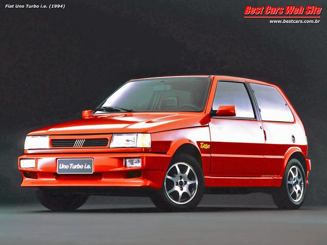 Auto Storiche in Brasile - FIAT Fiat_Uno_Turbo_IE_1994