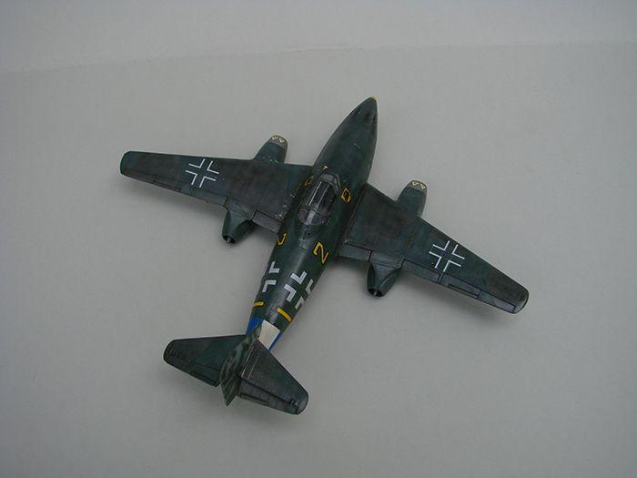 Messerschmitt Me-262 A-1a, stari Revell, 1/72 REBUILD DSC04340