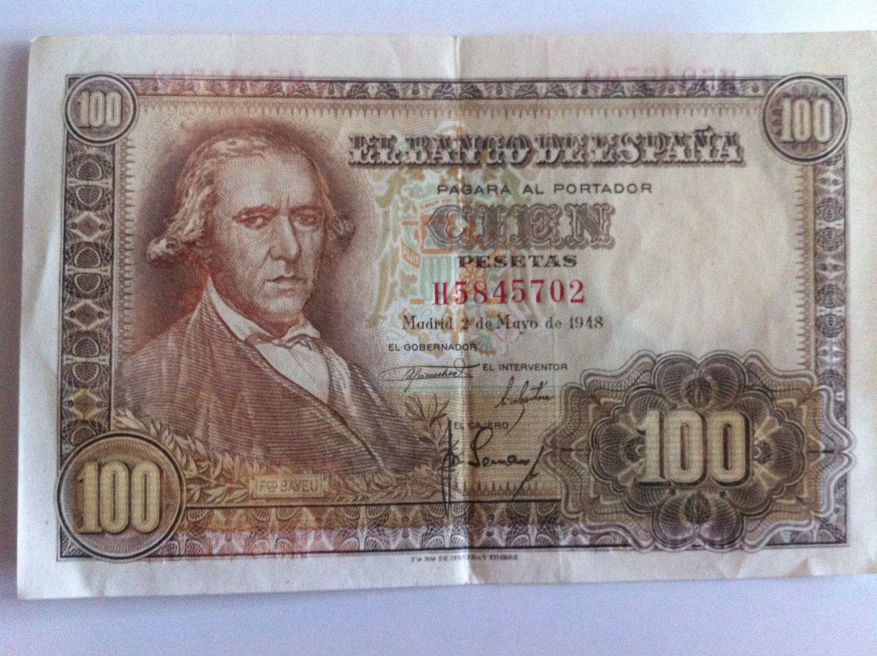 Ayuda valoracion cien pesetas 1948   IMG_5006