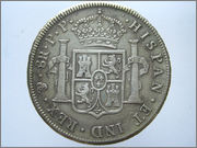 8 Reales Carlos IV 1797 Potosi 57_28