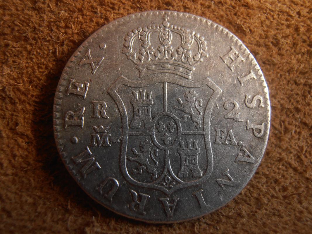2 Reales 1806. Carlos IV. Madrid PA260016