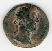 Dupondio de Marco Aurelio con Liberalitas en el reverso. Mon011a