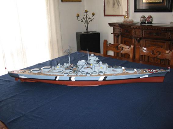 Bismarck amati/hachette scala 1:200 IMG_2368