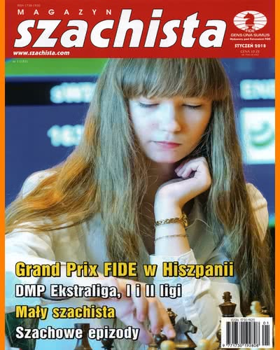 CHESS PERIODICALS :: Magazyn SZACHISTA (Polish Chess Monthly Magazine) Ms_2018-01