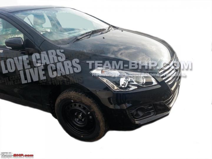 2014 - [Suzuki/Maruti] Alivio / Ciaz Maruti_Suzuki_YL1_sedan_spied_side