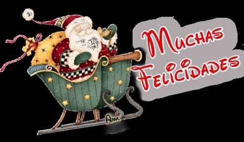 Linda Navidad Ho Ho Ho !! MUCHAS_FELICIDADES