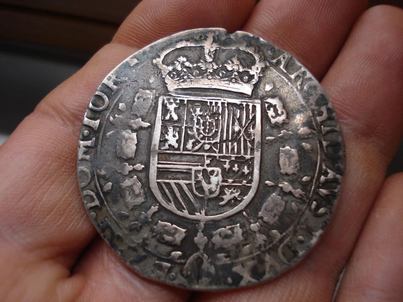 1 patagón 1631. Felipe IV. Señorío de Tournai. Patagon_003