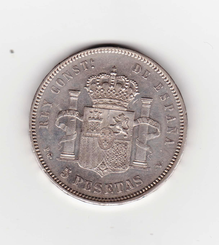 5 pesetas 1893 PGV, Alfonso XIII 5_pesetas_1893_PGV_001