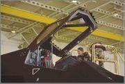 F-117A Nighthawk Farewell  1:72 Hasegawa F_117cockpit3