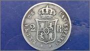 2 reales   1853   ISABEL  2a  ceca de   Sevilla 20140710_142353