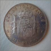 Conservacion de 1 peso de filipinas de 1897????? Image