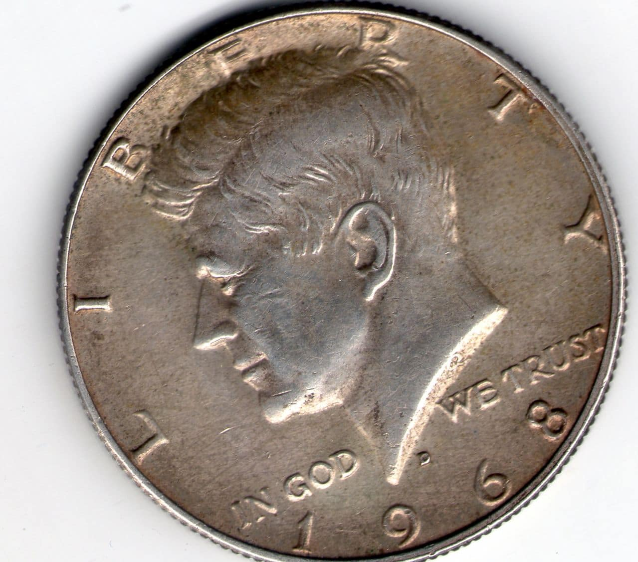 1/2 Dollar Kennedy. Estados Unidos. 1968. Half_dollar_anv