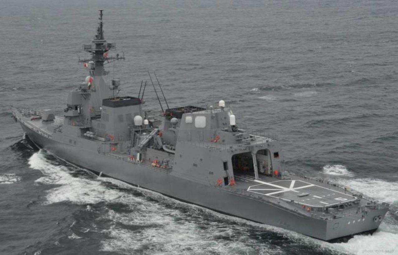 Destructor Clase Akizuki 19DD - Diseño stealth y respaldo a buques Aegis y Portahelos Hyuga AKIZUKICLASSDESTROYER3