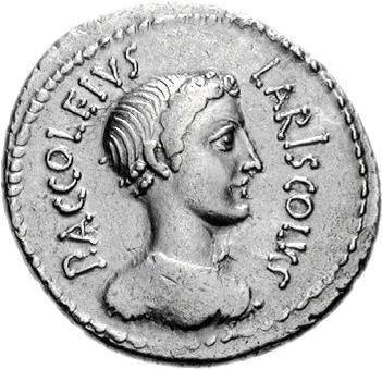 Glosario de monedas romanas. DIANA NEMORENSIS. Image