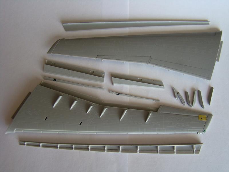 Ил-76 МД   TRUMPETER  М1:144 DSC07170